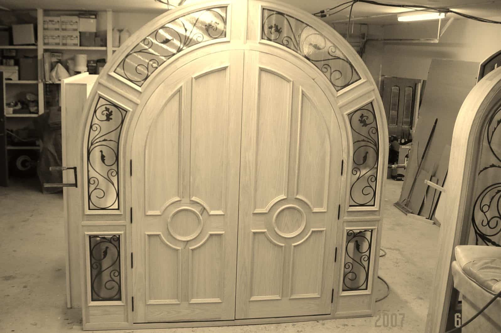 camwood unique door
