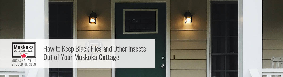 How to keep blackflies and other insects out of your Muskoka cottage